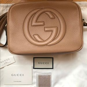 Gucci Soho Disco Bag Beige Crossbody
